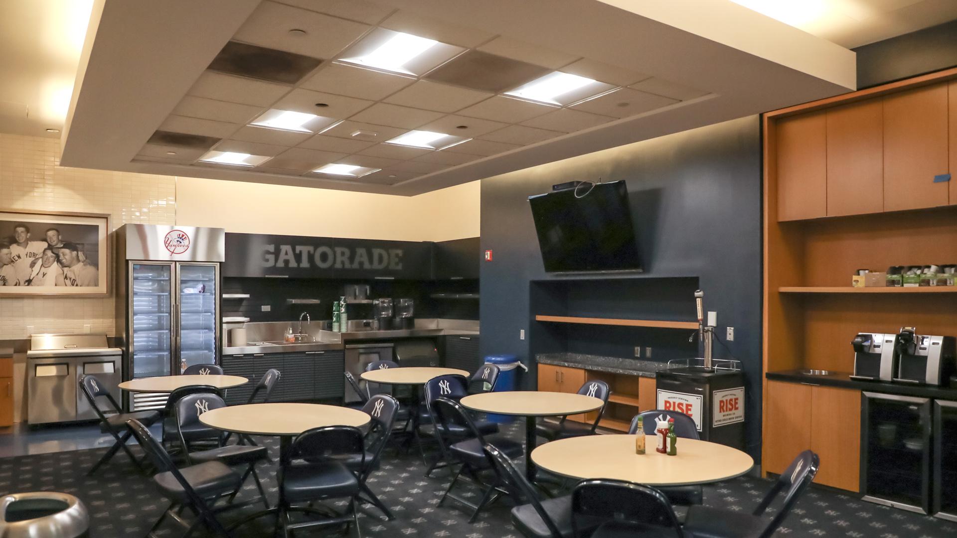 BEETLE in Yankees Cafeteria