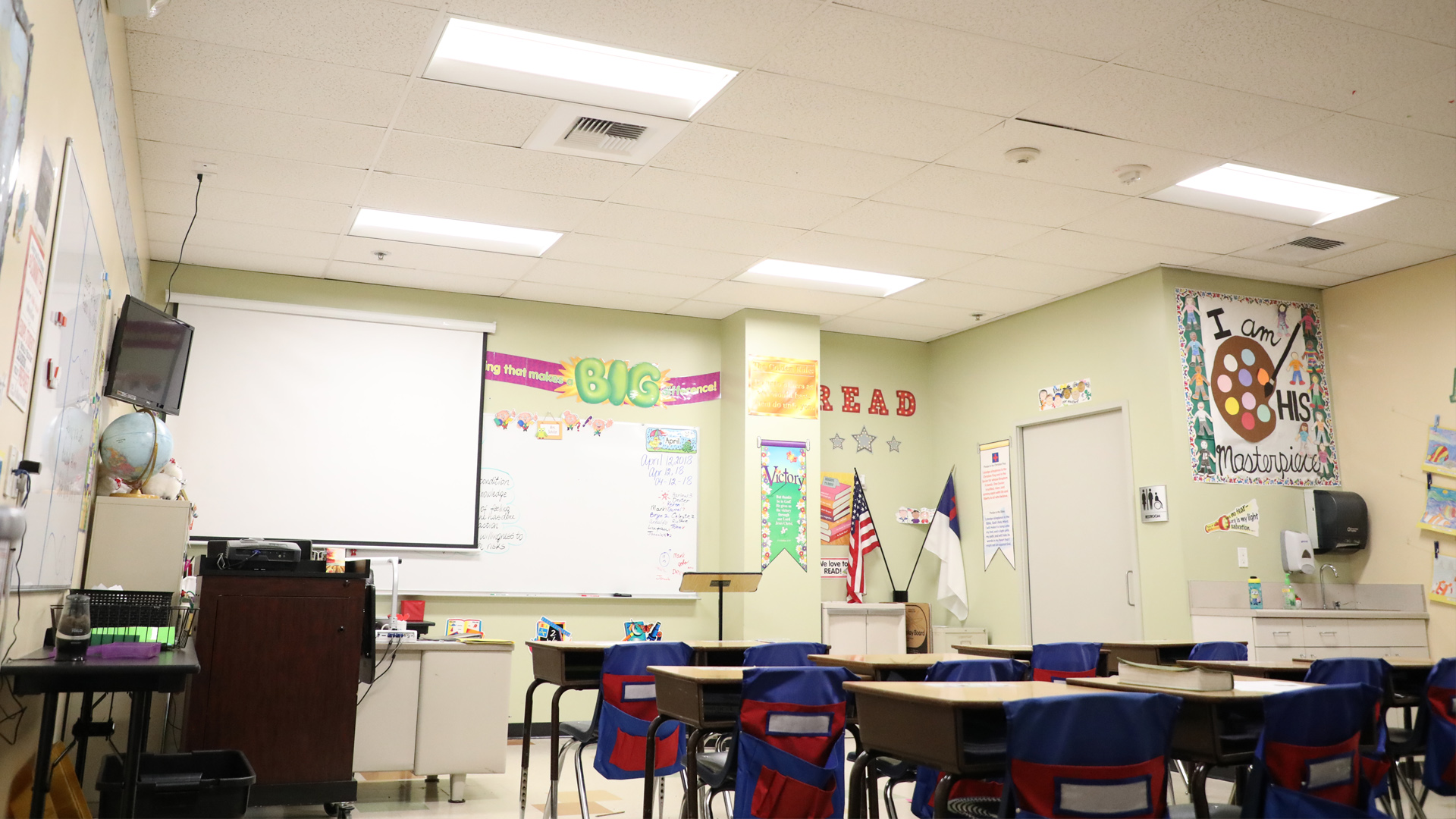 LED Retrofit in Schools