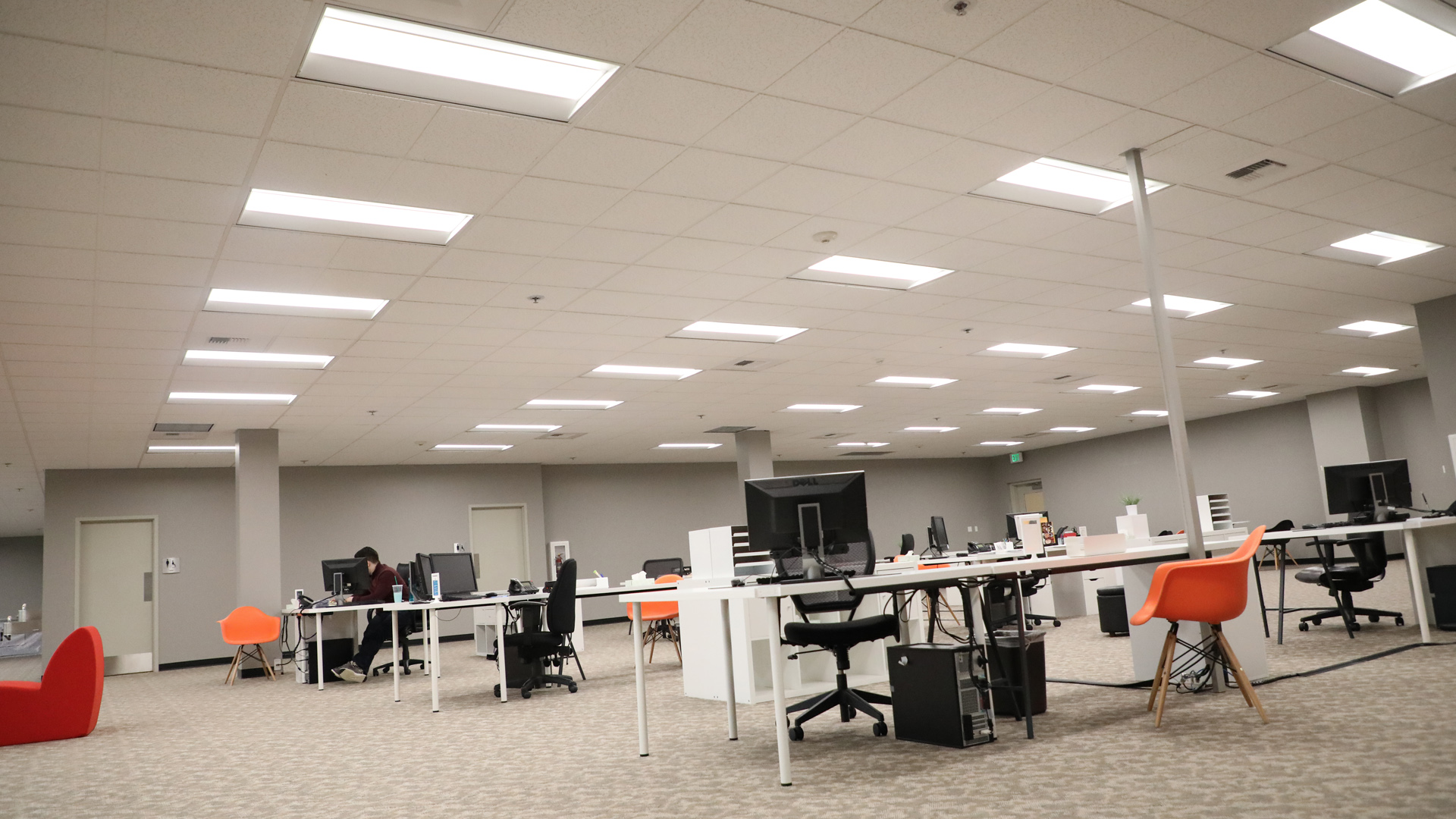 LED Indoor Lighting for Offices