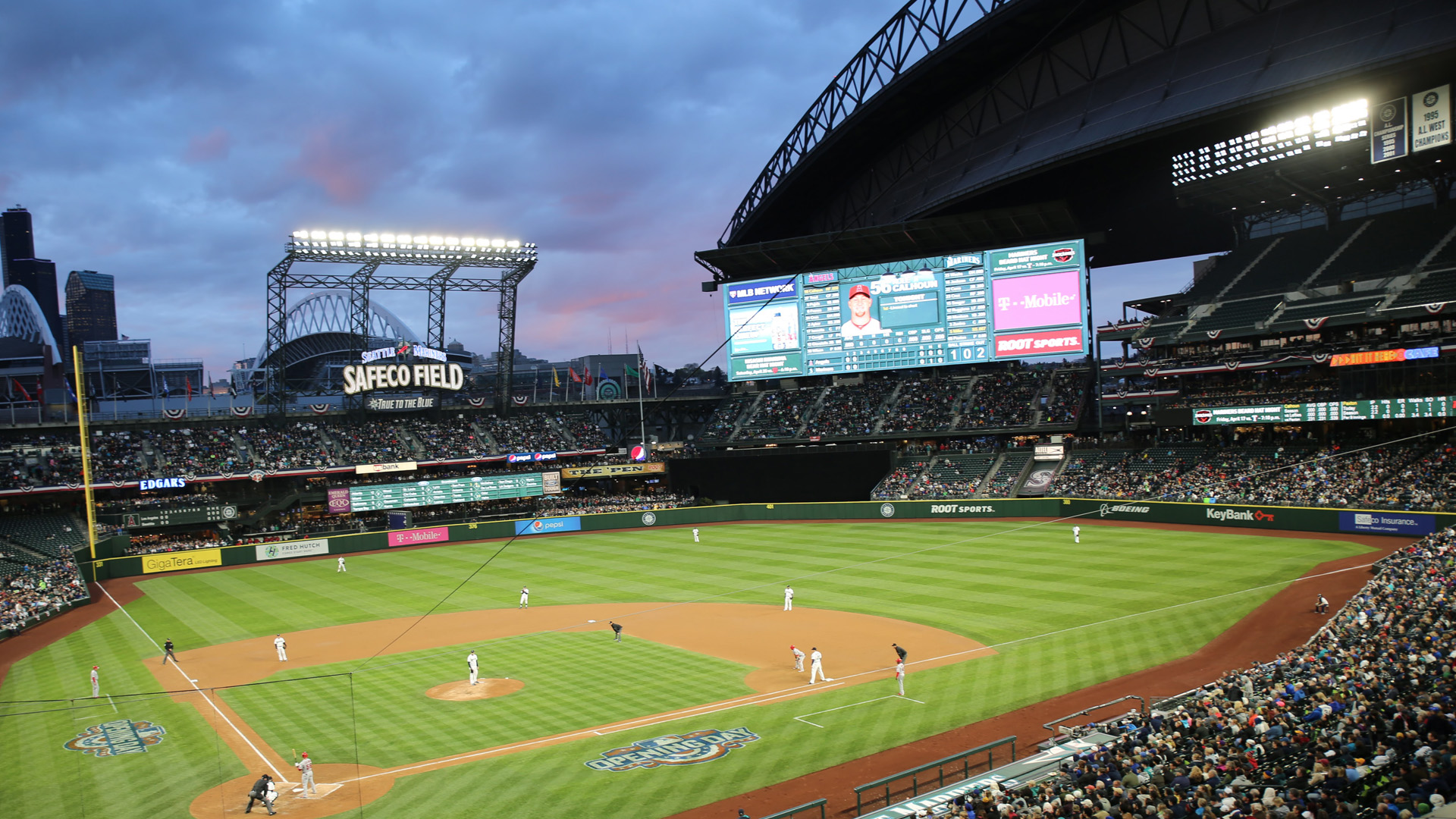 SUFA Lighting Up Safeco Field